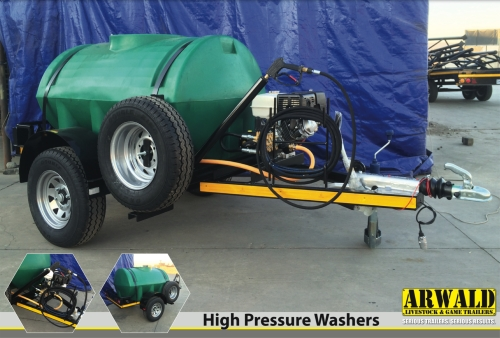 High Pressure Washer / Hoë Druk Wasser